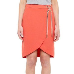 Ted Baker Colour By Numbers Crossover Front Skirt